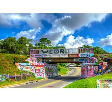 Graffiti Bridge - A Pensacola Landmark Photographic Print