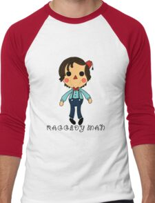 Raggedy Man Men's Baseball ¾ T-Shirt