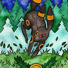 Eeveevolution Series - Umbreon by Jazmine Phillips