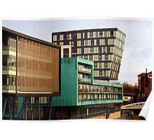 Riverside Apartments, Sheffield Poster