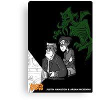 Justin Hamilton & Arran McKenna's DEVIL IS IN THE DETAILS Canvas Print