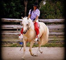 COWGIRL WITH ATTITUDE, Poetry In Motion by Barbara  Jean
