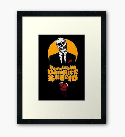 Matthew Dunn's CEO Framed Print