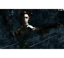 Stand and Deliver Photographic Print