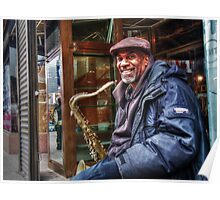 the Jazz Musician Poster
