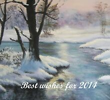 Best wishes for 2014 by Marion Clarke