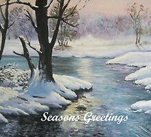Seasons Greetings by Marion Clarke