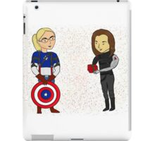 Every Blonde Needs a Brunette iPad Case/Skin