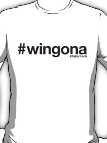 ITALIAN TECH Trend #wingona T-Shirt