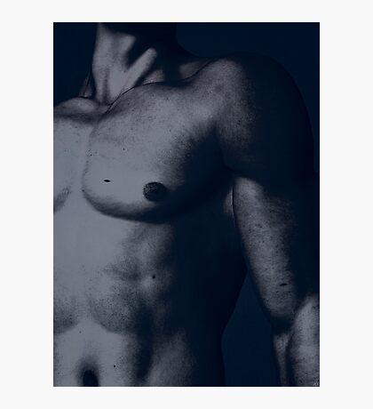 Male torso Photographic Print