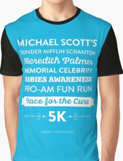 The Office - Rabies Awareness Fun Run Graphic T-Shirt