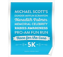 The Office - Rabies Awareness Fun Run Poster