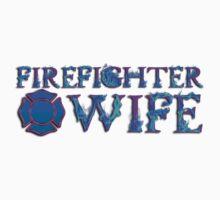 Firefighter Wife Maltese Cross by Beverly Lussier