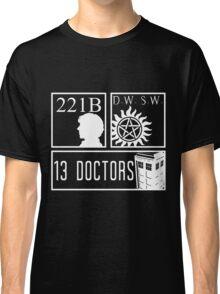 Superwholock fandom Classic T-Shirt