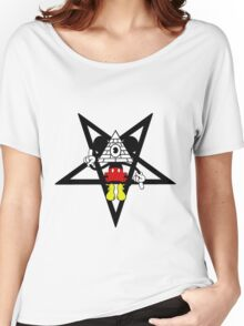 Illuminati Mickey Women's Relaxed Fit T-Shirt