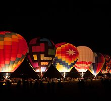 Hot Air Balloon Dawn Patrol in Reno by donberry