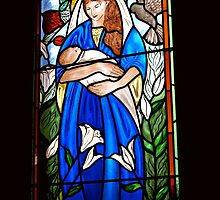 The Virgin Mary ~ Ardrossan Anglican Church, South Australia by Jan Stead JEMproductions