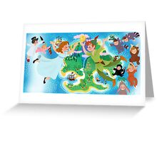 Fly to Neverland Greeting Card