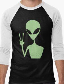 Peace Alien 2015 Men's Baseball ¾ T-Shirt
