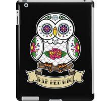 R.I.P Hedwig Sugar Skull iPad Case/Skin
