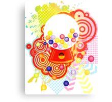 Gumball_Machine Metal Print