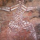 Kakadu Rock Art #5 by Natalie Ord