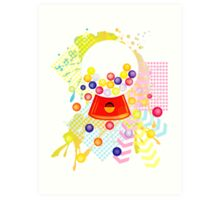 Gumball_Machine Art Print