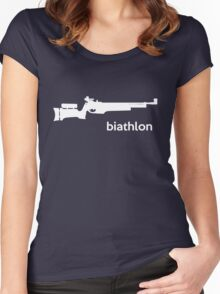 Fx Biathlon Airgun T-shirt Women's Fitted Scoop T-Shirt