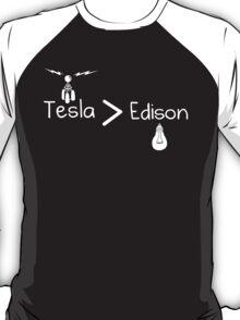 Tesla Greater Than Edison T-Shirt