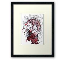 shigeki.zumi: tattoo sketchbook: 008 Framed Print