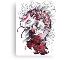shigeki.zumi: tattoo sketchbook: 008 Canvas Print