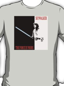The Force Is Yours | Scarface mashup T-Shirt