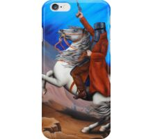 Ned Kelly Crossing the Strathbogie Ranges iPhone Case/Skin