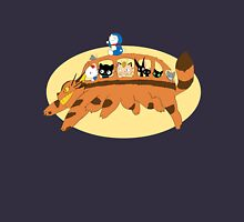 Cat Catbus Womens Fitted T-Shirt