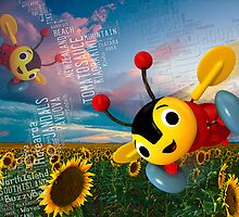 Buzzy Bee - NZ by STUDIO 88 STRATFORD TARANAKI NZ