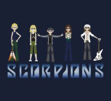 Groupe Scorpions by goldencage