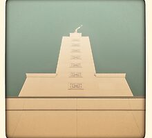 Temple in Green by Kevin Bergen