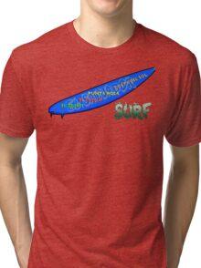Surf El Salvador Tri-blend T-Shirt