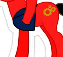 Pony Gearhead Sticker