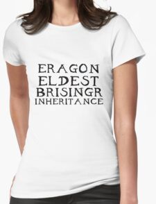 The Inheritance Cycle Typography Womens Fitted T-Shirt