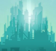 The first light of metropolis by Budi Kwan