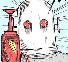 Robotic Tribulations by Robotsandbirds