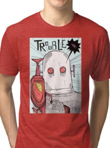 Robotic Tribulations Tri-blend T-Shirt