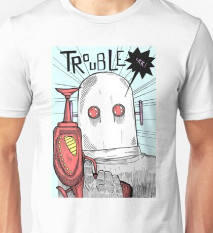 Robotic Tribulations Unisex T-Shirt