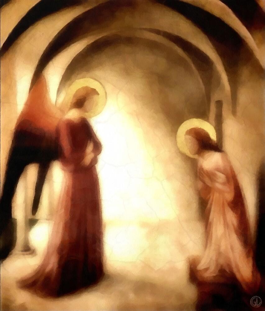 Annunciation by Gun Legler