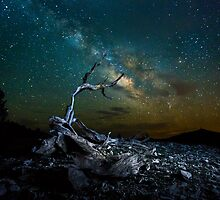 Milky way The White Mountain by Jerome Obille