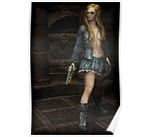Steampunk Vixen Poster