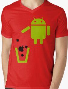 Apple is Trash!  Mens V-Neck T-Shirt