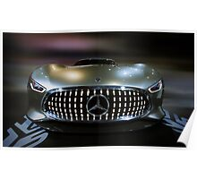 Mercedez Benz Concept Car Poster