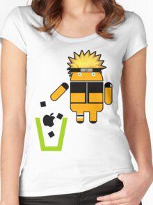 Apple is Trash! n3rdy editi0n ! Women's Fitted Scoop T-Shirt